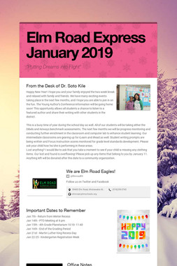 Elm Road Express   January 2019