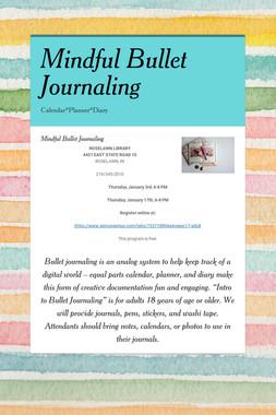 Mindful Bullet Journaling
