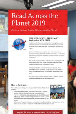 Read Across the Planet 2019