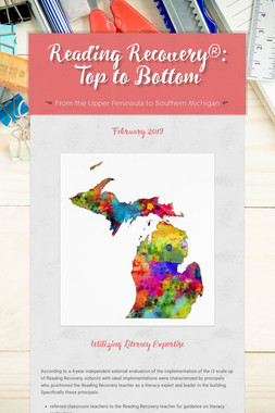 Reading Recovery®: Top to Bottom