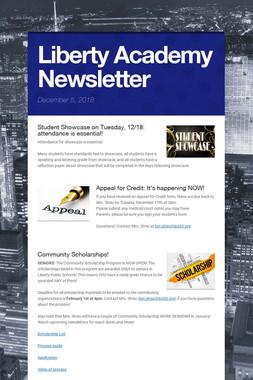 Liberty Academy Newsletter