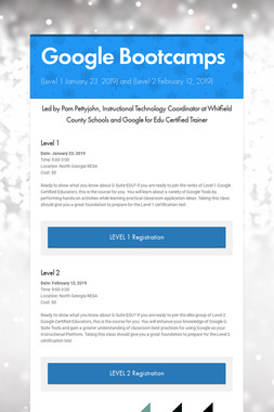 Google Bootcamps