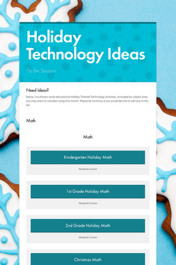 Holiday Technology Ideas