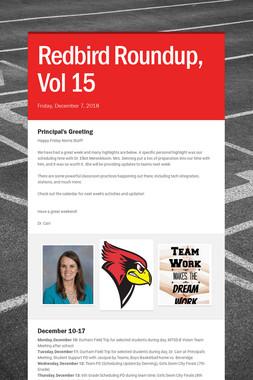 Redbird Roundup, Vol 15