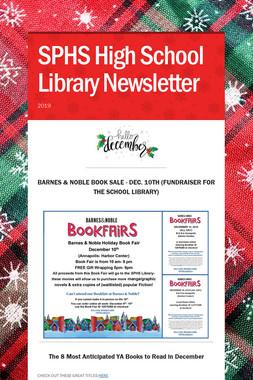 SPHS High School Library Newsletter