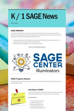 K / 1 SAGE News