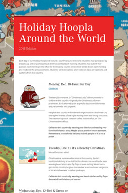 Holiday Hoopla Around the World