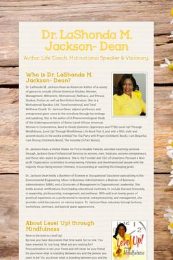 Dr. LaShonda M. Jackson- Dean