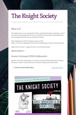 The Knight Society