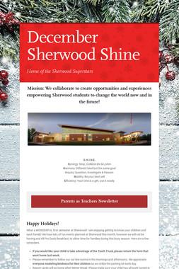 December Sherwood Shine