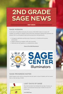 2nd Grade SAGE News