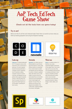 AoP Tech EdTech Game Show