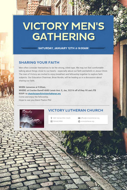 Victory Men's Gathering