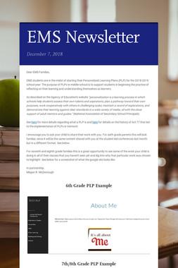 EMS Newsletter