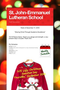 St. John-Emmanuel Lutheran School