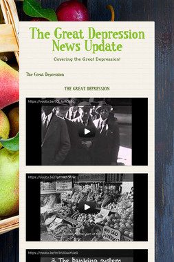 The Great Depression News Update