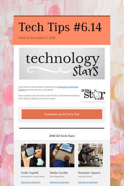 Tech Tips #6.14