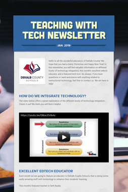 Teaching with Tech Newsletter