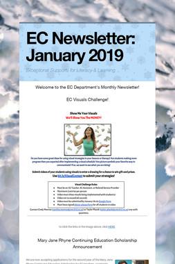 EC Newsletter: January 2019