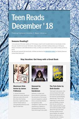 Teen Reads  December '18