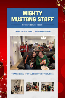 Mighty Mustang Staff