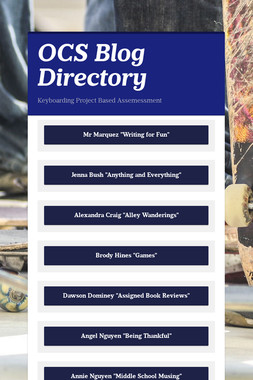 OCS Blog Directory