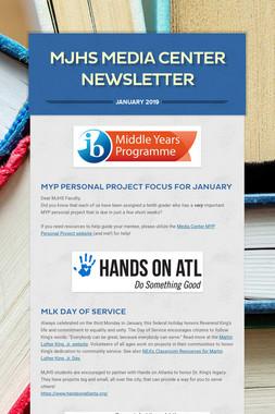 MJHS Media Center Newsletter