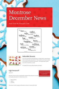 Montrose December News