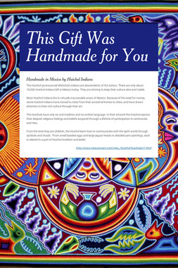 This Gift Was Handmade for You
