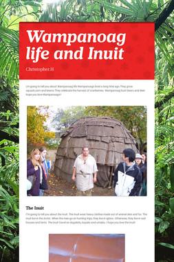 Wampanoag life and Inuit