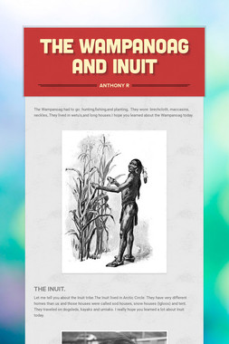 The Wampanoag and Inuit
