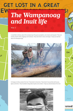 The Wampanoag and Inuit life