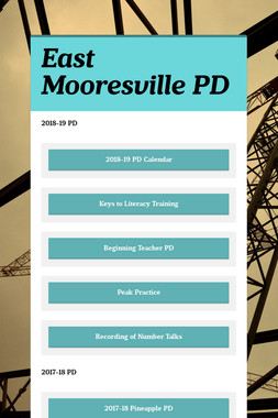 East Mooresville PD