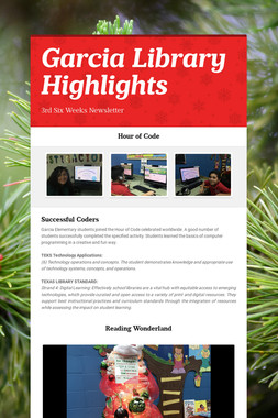 Garcia Library Highlights