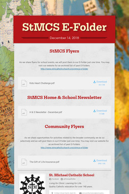 StMCS E-Folder