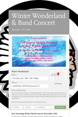 Winter Wonderland & Band Concert