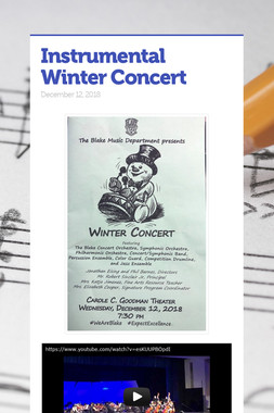 Instrumental Winter Concert