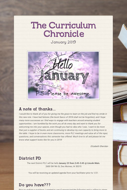 The Curriculum Chronicle