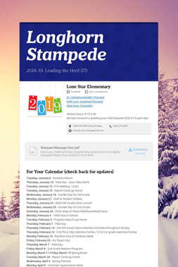 Longhorn Stampede