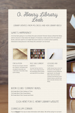 O. Henry Library Leak
