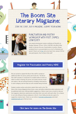 The Boom Site Literary Magazine: