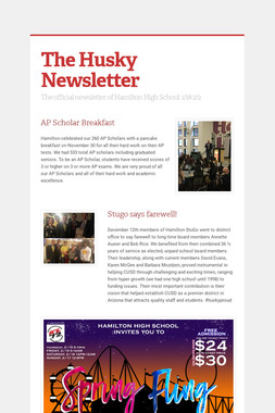 The Husky Newsletter