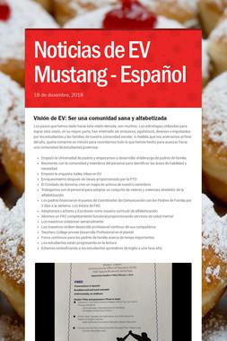 Noticias de EV Mustang - Español