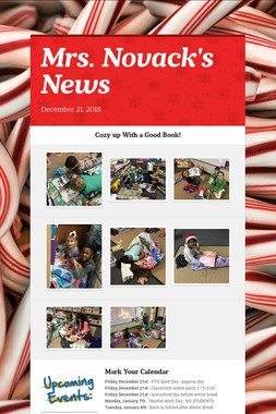 Mrs. Novack's News