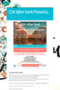 CSK After Dark Presents..
