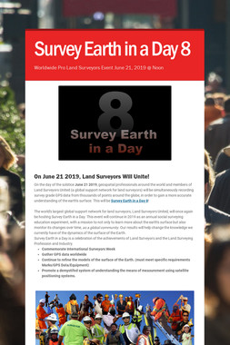 Survey Earth in a Day 8