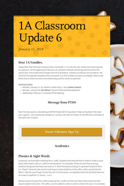 1A Classroom Update 6