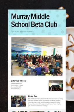 Murray Middle School Beta Club
