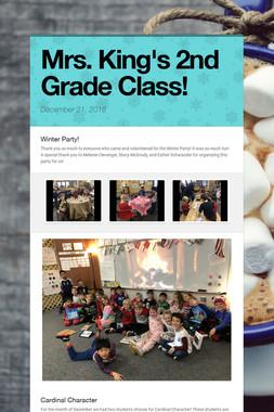 Mrs. King's 2nd Grade Class!