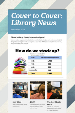 Cover to Cover: Library News